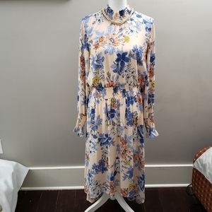 Nanette Lepore High low Floral Dress 12